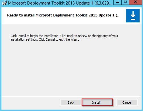 Install MDT - 5