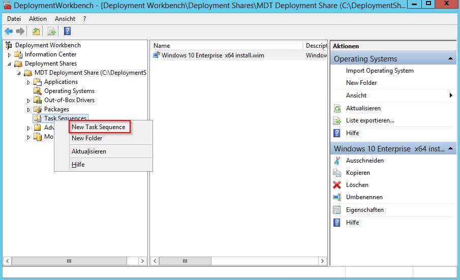 Configure MDT TS - 1