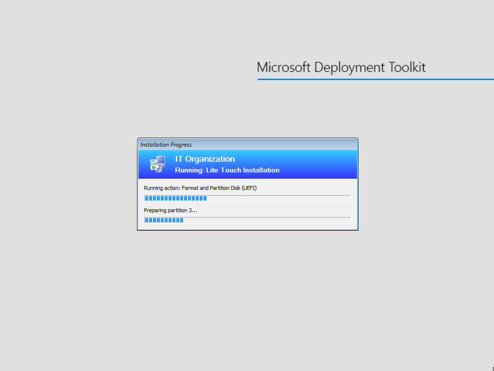 Install Windows with MDT - 8