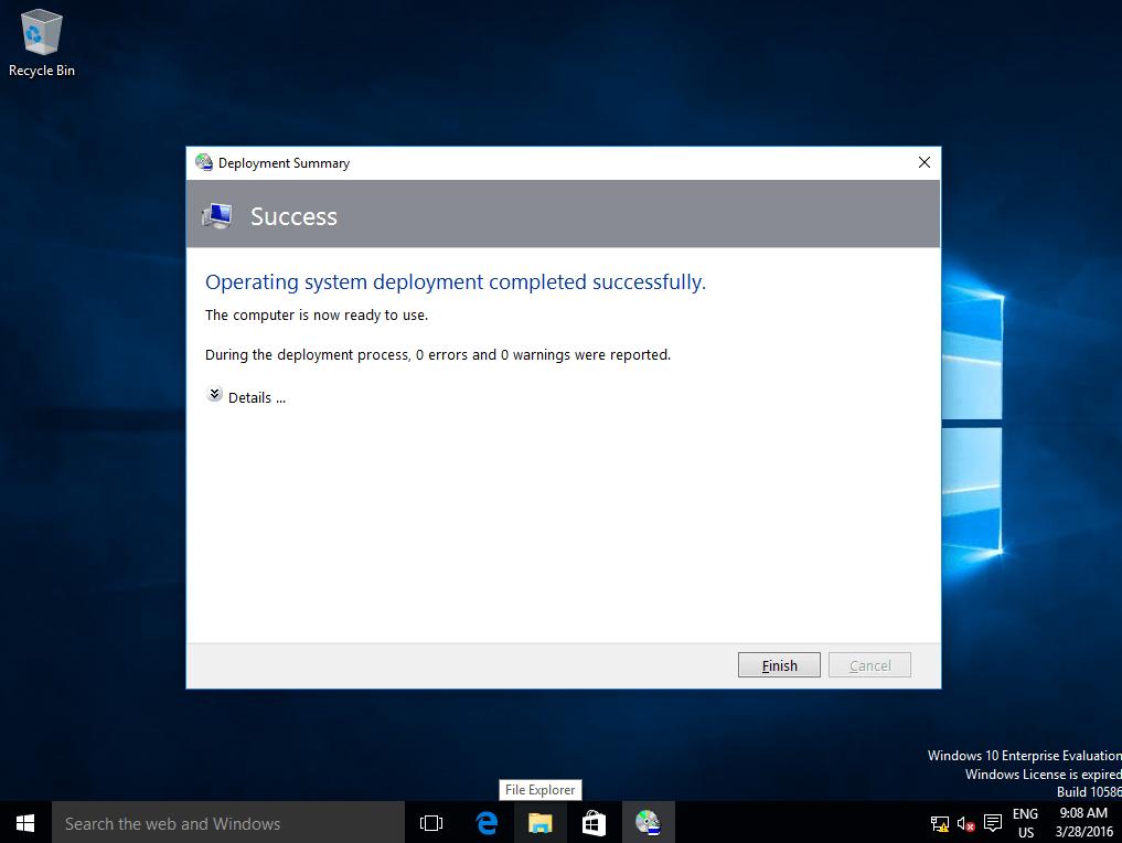 Install Windows with MDT - 9