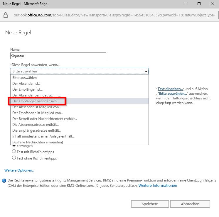 Office 365 Signatur - 4