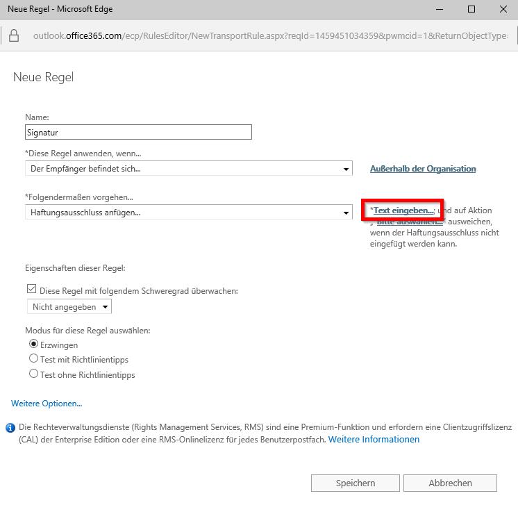Office 365 Signatur - 6