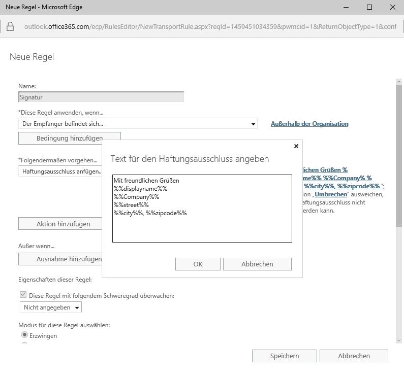 Office 365 Signatur - 7