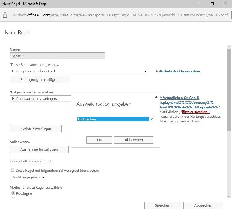 Office 365 Signatur - 9