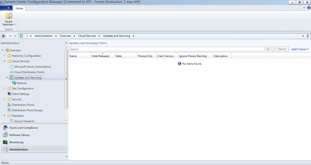 SCCM 1602 - Updating