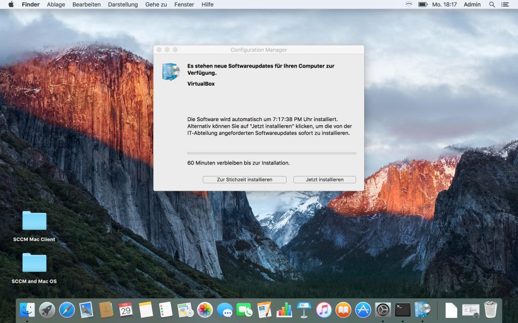 SCCM und Mac - Client 6