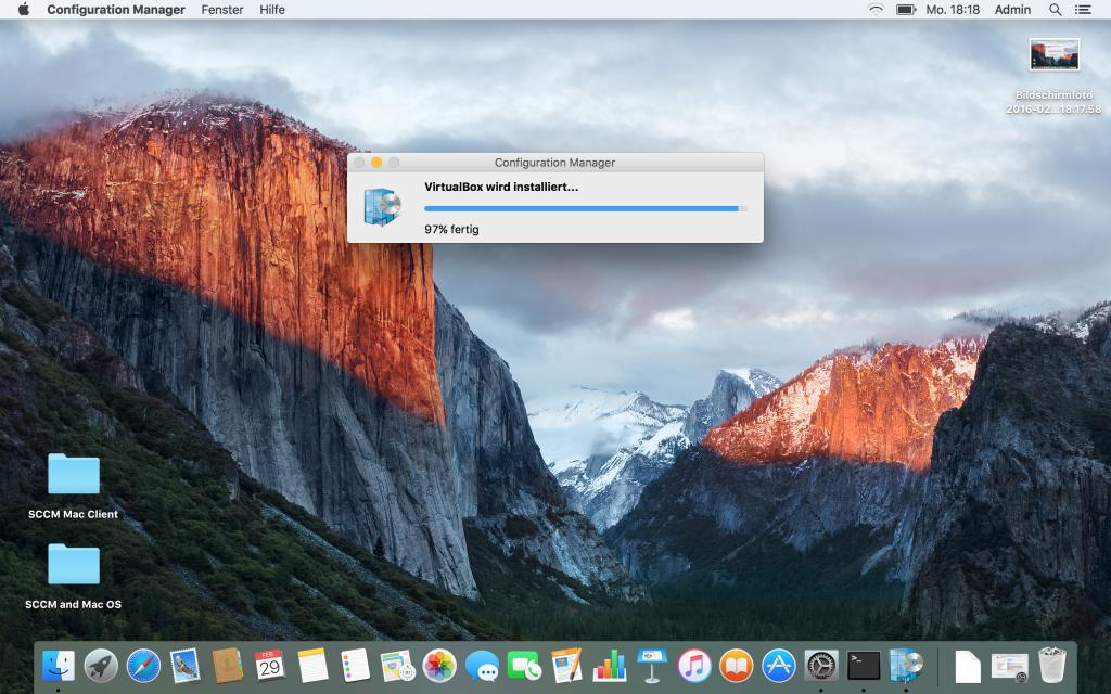 SCCM und Mac - Client 7