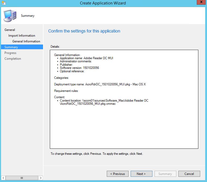 SCCM und Mac - Software Paketierung 4