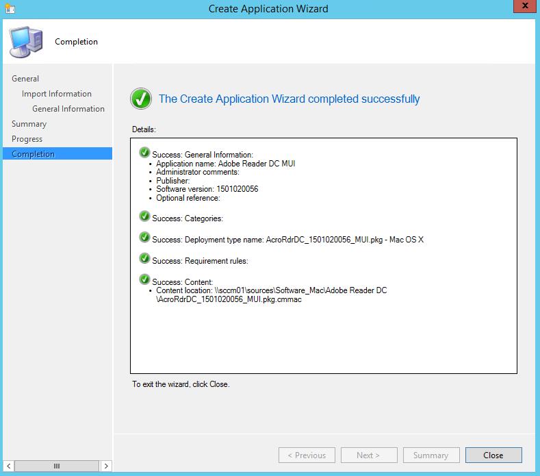 SCCM und Mac - Software Paketierung 5