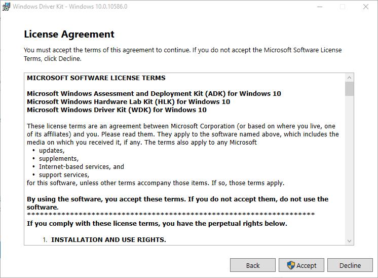 Dpinst - WDK installieren 4
