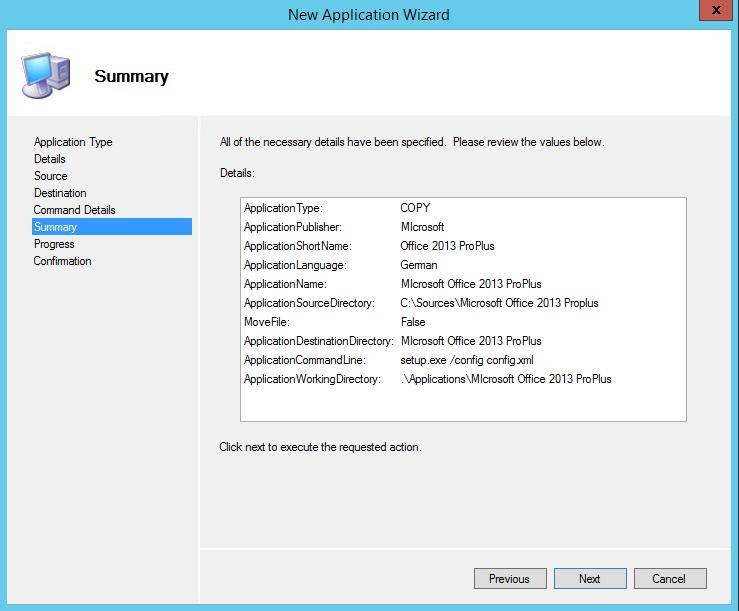 MDT 2013 - Anwendung in Tasksequenz installieren - 7